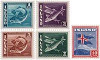 Islande - AFA 210-214 - Neuf avec charnières