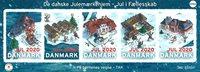 Danmark - Julemærkehjem megaark 2020 - Postfrisk ark