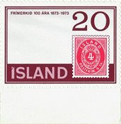 Iceland 1973 - Facit 512V2-AFA 476 - Postfrisk