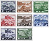 Island 1950 - AFA 264-71 - Postfrisk