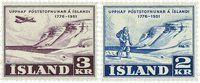 Island 1951 - AFA 274-275 - Postfrisk