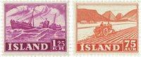 Island 1952 - AFA 276-77 - Postfrisk