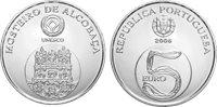 Portogallo - moneta 5 euro d'argento Alcoba - 2006