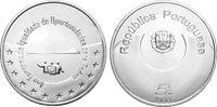 Portogallo - moneta 5 euro d'argento Anno Europeo - 2007