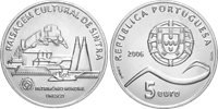 Portugal - 5 euro silver coin UNESCO - 2006