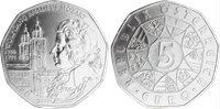 Austria - moneta 5 euro d'argento Mozart - 2006
