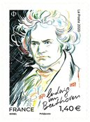 France - Ludwig v. Beethoven - Timbre neuf