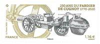 France - Fardier de Cugnot - Timbre neuf