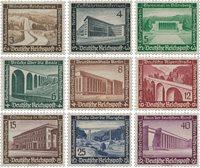 Tyske Rige - 1936 - MICHEL 634/642, Postfrisk