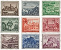 Empire Allemand - 1939 - Michel 730/738, neuf