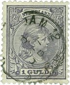 Holland - NVPH 44 - Stemplet