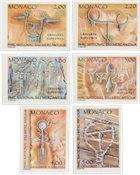 Monaco 1989 - YT 1663/1668 - Postfrisk