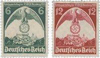 Empire Allemand 1935 - Michel 586-87 - Neuf
