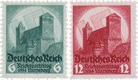 Tyske Rige - 1934 -  Michel 546-47 - Postfrisk