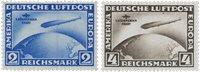 Empire Allemand 1930 - Michel 438-439 - Neuf avec charnières