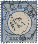 Tyske Rige 1872 -  Michel 26 - Stemplet