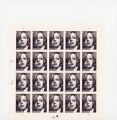 Etats-Unis - Feuille entière neuve Greta Garbo