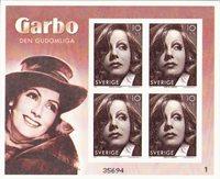 Sverige - Greta Garbo - Postfrisk miniark - 2005