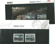 Danmark 2012 - Nordia 2012 - AFA souvenirmappe 101