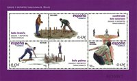 Spanien - Keglespil - Postfrisk miniark
