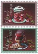 Åland - Julefrimærker 2020 - Postfrisk sæt 2v