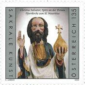 Østrig - Christus Salvator - Postfrisk frimærke