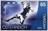 Østrig - Sport - Håndbold - Postfrisk frimærke