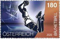 Østrig - Sport - Basketball - Postfrisk frimærke