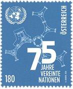 Østrig - FN - Postfrisk frimærke