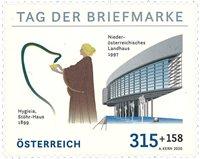 Østrig - Frimærkets dag 2020 - Postfrisk frimærke
