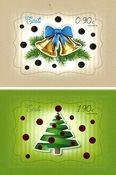 Estland - Julen 2020 - Postfrisk sæt 2v