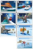 Guernesey - Le Père Noël visite Guernesey - Série neuve 7v