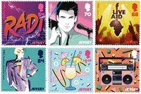 Jersey - La culture populaire des années 1980 - Série neuve 6v