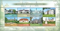 Hungary - Castles and palaces - Mint souvenir sheet