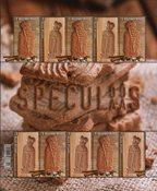 Belgien - Speculaas - Postfrisk miniark