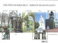 Belgien - Skulpturer - Postfrisk miniark