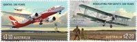 Australien - Civil luftfart - Postfrisk sæt 2v