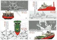 Antarctique Australien - RSV Nuyina - Série neuve 4v
