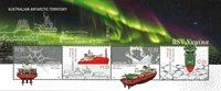 Australsk Antarktis - RSV Nuyina - Postfrisk miniark