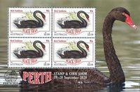 Australien - Perth frimærkeudstiling - Postfrisk miniark