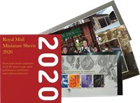 Great Britain - Year pack 2020 - Souvenir sheets
