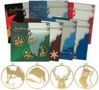 Abonnez-vous aux Ornements de Noël de la Poste du Groenland et recevez les 8 séries de 2013 à 2020 - Série neuve 5v