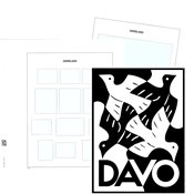 2019 - Luxe album pages - DAVO
