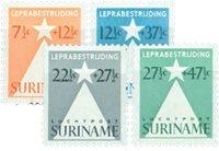 Surinam 1947 - NVPH 247/48+LP29/30 - Neuf avec charnière