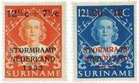 Surinam 1953 - NVPH 295/96 - Neuf avec charnière
