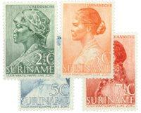 Suriname 1940 - NVPH 190/93 - ubrugt