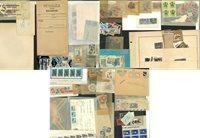 Mundial - Lote con sellos en bolsas y sobres