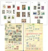 Belgique - Collection en 2 albums préimprimés