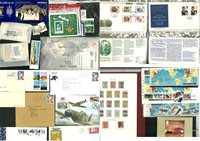 Worldwide - Collection in preprinted album, envelopes and loose stamps
