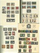 Grecia - Colección 1861-1989 en álbum preimpreso